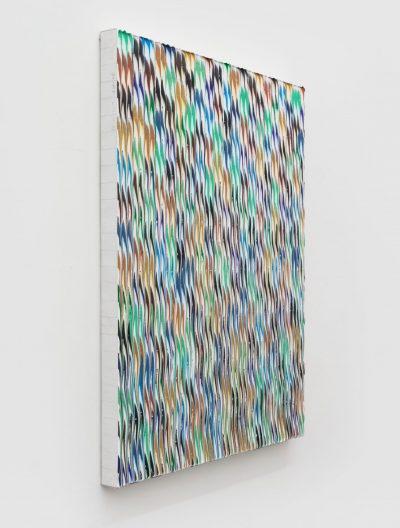 Xie Molin Ji No.25 棘 No.25, 2019 Acrilico su tela/ Acrylic on canvas 108 × 84 cm Courtesy Primo Marella Gallery & the artist, Targi Sztuki Artissima