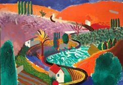 Pejzaż Davida Hockneya trafi na aukcję w Nowym Jorku