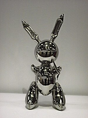Jeff Koons, Rabbit, 1986