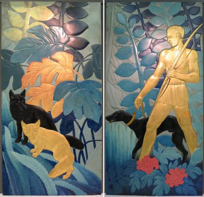 Jean Dunand, La_Chasse_(The_Hunt), 1935, Wolfsonian-FIU Museum