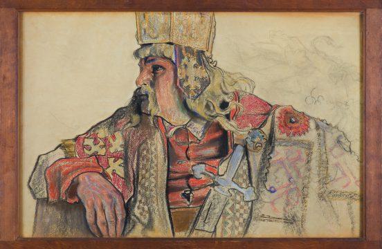 Stanisław Wyspiański, JÓZEF SOSNOWSKI W ROLI KRÓLA BOLESŁAWA, 1903