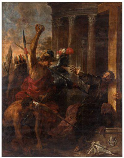 Michael Willmann, Męczeństwo św. Tomasza, 1662 Kościół Wszystkich Świętych w Warszawie na Grzybowie