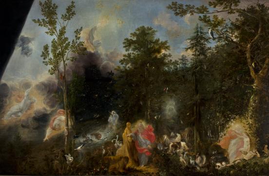 Michael Willmann, Sześć dni stworzenia, 1668 Muzeum Narodowe w Warszawie