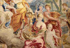 Monumentalne tapiserie znów w Pałacu Biskupów Krakowskich w Kielcach