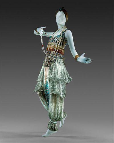 Paul Poiret, Kostium na bal przebierańców 1911, Metropolitan Museum of Art