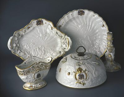 """Serwis """"łabędzi"""", Miśnia, 1737–1741, Muzeum Narodowe w Warszawie"""