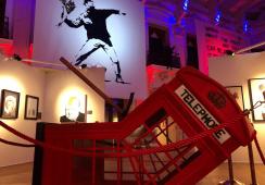 Pierwsza wystawa Banksy'ego w Polsce