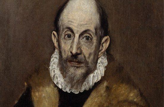 """El Greco """"Portrait of an Old Man"""" (autoportret), ok.1595–1600, źródło: Wikiarts.org"""