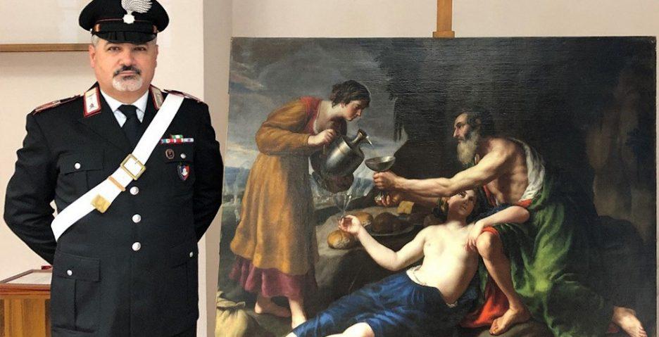 Zrabowany przez nazistów obraz Nicolasa Poussina odnaleziony