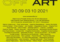 """Warsaw off ART 2021 """"Art is not a crime"""""""